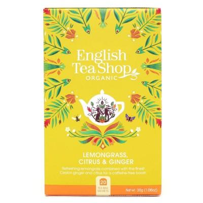 English Tea Shop Citronová tráva, zázvor, citrusy Mandala...