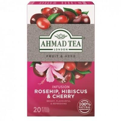 Ahmad Tea Šípek a třešeň 20 x 2 g