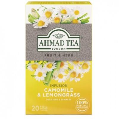 Ahmad Tea Heřmánek a citrónová tráva 20 x 1,5 g