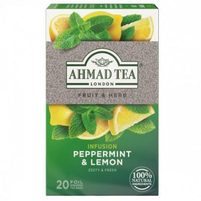 Ahmad Tea Máta s citrónem 20 x 1,5 g