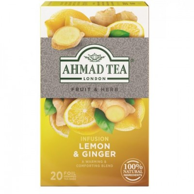 Ahmad Tea Citron a zázvor 20 x 2 g
