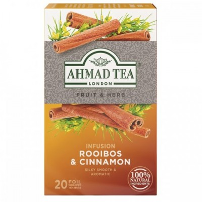 Ahmad Tea Rooibos a skořice 20 x 1,5 g