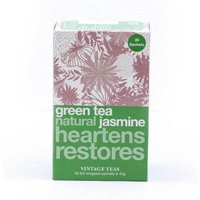 Vintage Teas Zelený čaj s jasmínem 30 x 1,5 g
