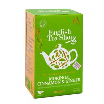 English Tea Shop Skořice, moringa a zázvor 20 sáčků