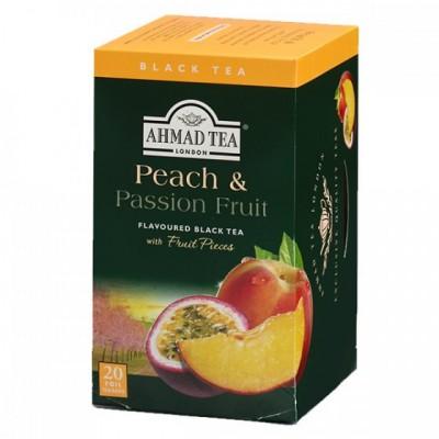 Ahmad Tea Černý čaj s příchutí broskev a passion fruit 20...