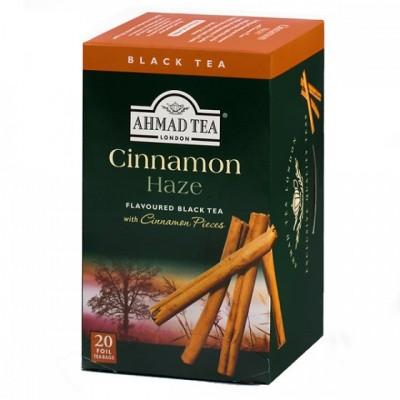Ahmad Tea Černý čaj s příchutí skořice 20 x 2 g