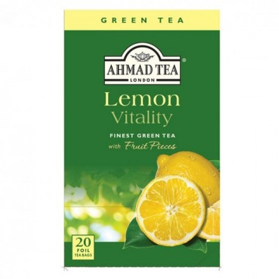 Ahmad Tea Green Tea lemon vitality 20 x 2 g