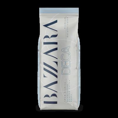 Bazzara DECA bezkofeinová zrnková káva 1kg
