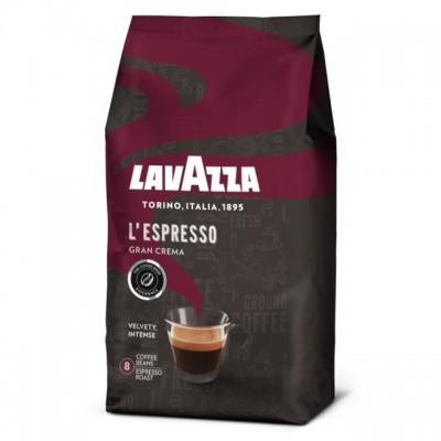 Lavazza L'espresso Gran Crema zrnková káva 1 kg