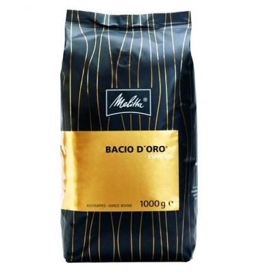 Melitta Bacio d Oro Espresso 1 Kg Zrnková káva
