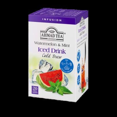 Ahmad Tea cold brew watermelon and mint ledový čaj 20 x 2 g