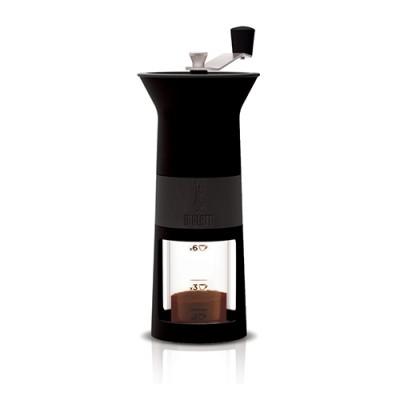 Bialetti Ruční mlýnek na kávu - černý