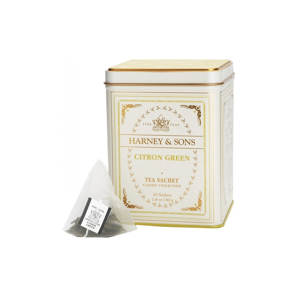 Harney & Sons - Čaj Citron Green v plechovce