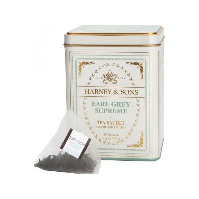 Harney & Sons - Čaj Earl Grey Supreme v plechovce