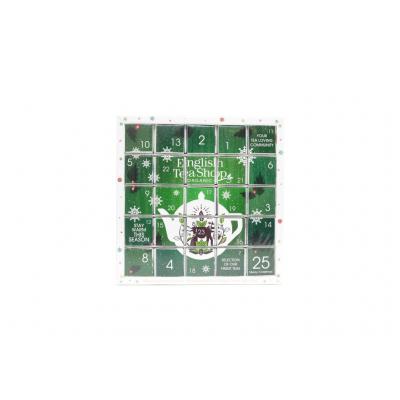 English tea shop Adventní kalendář zelený puzzle 25 sáčků