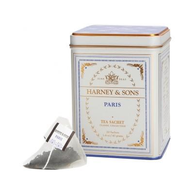 Harney & Sons čaj Paris 20 hedvábných sáčků v plechovce
