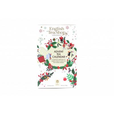 English tea shop Adventní kalendář bílý v krabičce 25 sáčků