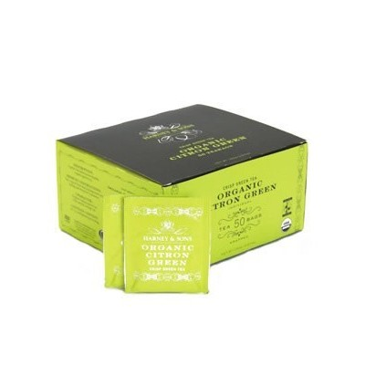 Harney & Sons Organic Citron Green zelený čaj 50 ks