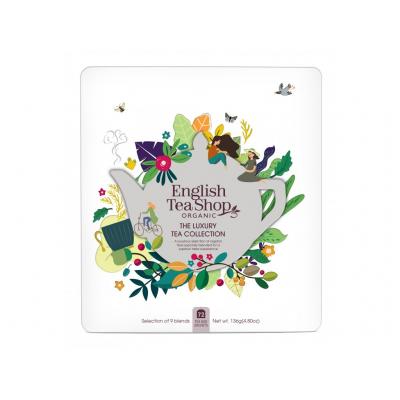 The English Tea Shop Dárková plechová kazeta Klasik 72 sáčků