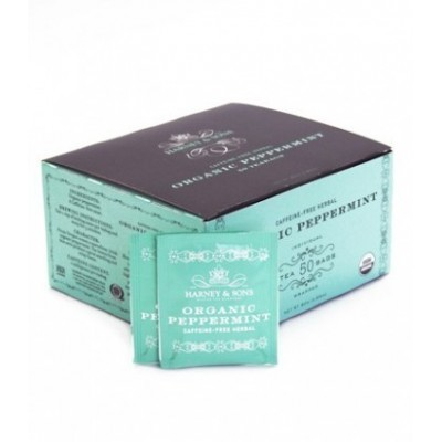 Harney & Sons čaj Organic Máta, 50 sáčků