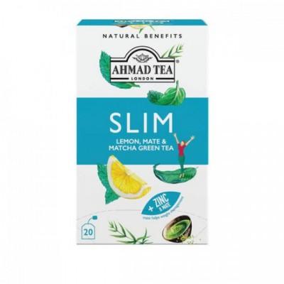 Ahmad Tea SLIM citrón, maté & matcha 1,5g x 20 sáčků