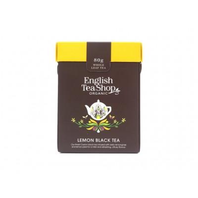 ETS černý čaj s citronem 80g sypaný čaj