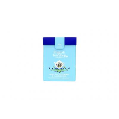 ETS Bílý čaj, borůvka a bezový květ 80g sypaný čaj