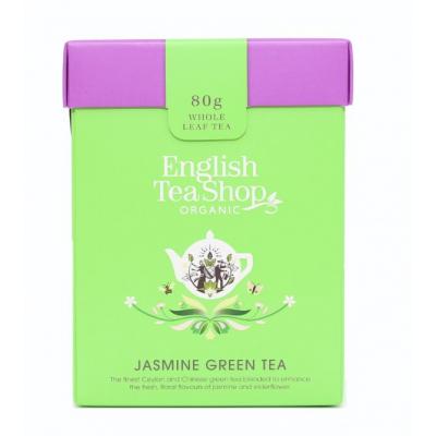 ETS Zelený čaj s jasmínem a bezinkou 80g sypaný čaj