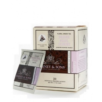 Harney & Sons čaj Dragon Pearl Jasmine - Wrapped Sachets