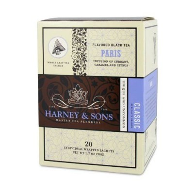 Harney & Sons čaj Paris - Wrapped Sachets