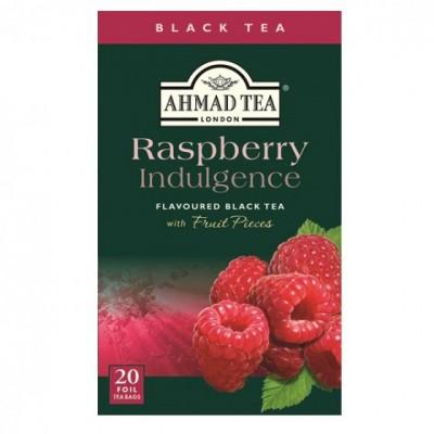 Ahmad Tea Černý čaj s příchutí malin 20 x 2 g