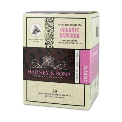 Harney & Sons čaj Organic Bangkok - Wrapped Sachets
