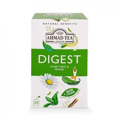 Ahmad Tea Digest Máta a fenykl 2g x 20 sáčků