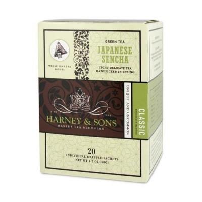 Harney & Sons čaj Sencha - Wrapped Sachets