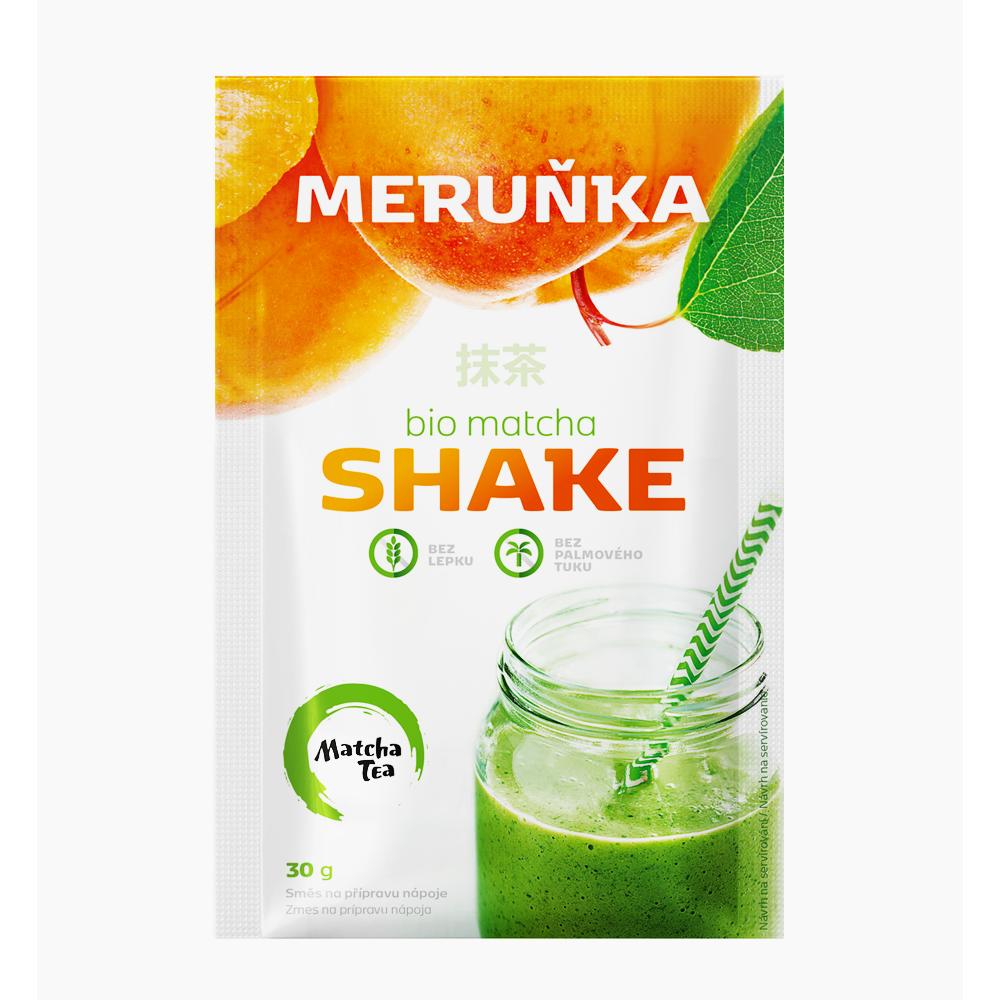 Matcha shake meruňka