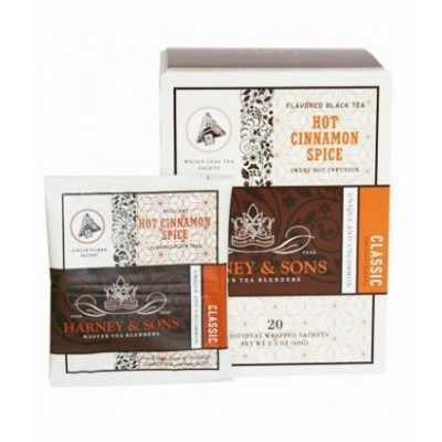 Harney & Sons Hot Cinnamon Spice - Wrapped Sachets