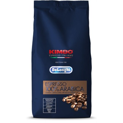 DeLonghi Kimbo Espresso 100% Arabica zrnková káva 250 g