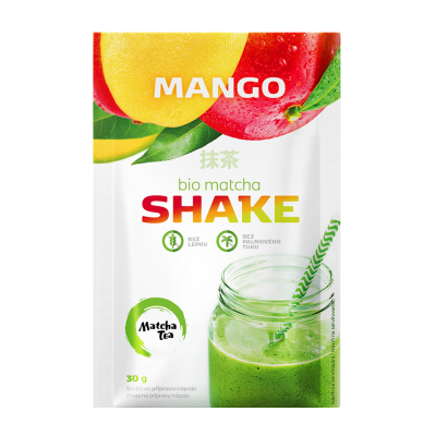 10+1 ZDARMA Matcha Tea shake mango - 30g