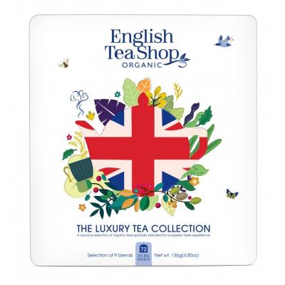 The English Tea Shop Union Jack dárková plechová kazeta...