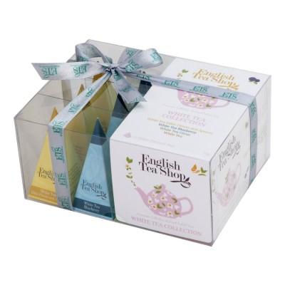 The English Tea Shop -  Bílý čaj dárková kolekce 12 čajů
