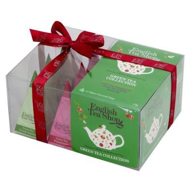 The English Tea Shop - Zelený čaj, dárková kolekce 12 čajů
