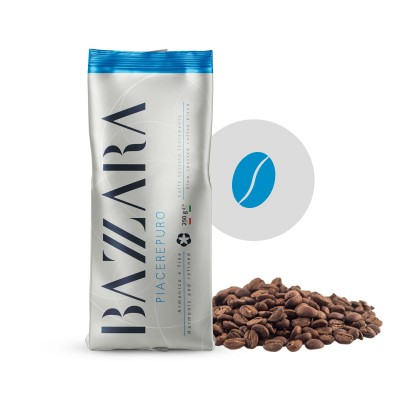 Bazzara Espresso Piacerepuro zrnková 250 g