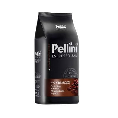 Pellini Espresso Bar n° 9 Cremoso zrnková káva 1kg
