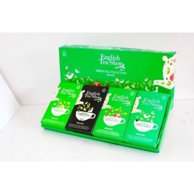 ETS Kolekce zelených čajů - 60 sáčků/ 4 příchutě po 15 sáčcích