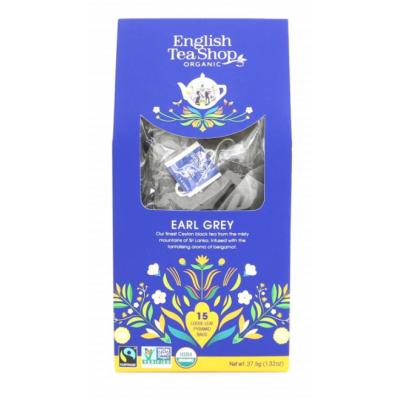 English Tea Shop Earl Grey 15 pyramidových sáčků