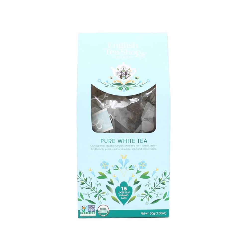 English Tea Shop Bílý čaj 15 pyramidových sáčků