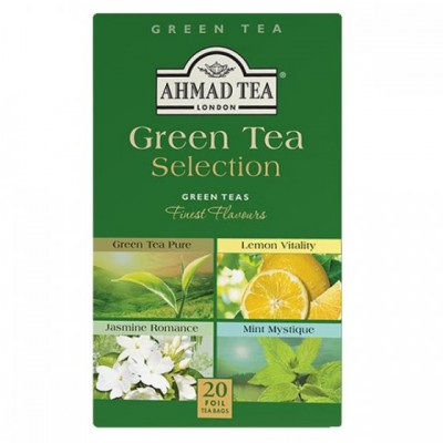 Ahmad Tea Green Tea Selection ALU 20 sáčků