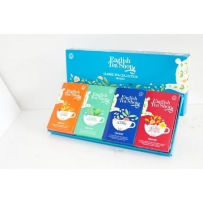ETS Klasická kolekce čajů - 60 sáčků/ 4 příchutě po 15 sáčcích