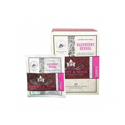 Harney & Sons VÝPRODEJ Malina ovocný čaj 20 x hedvábný...