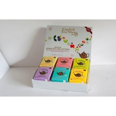 ETS Super tea kazeta - 48 sáčků / 6 příchutí po 8 sáčcích